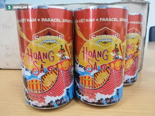 Bia Việt Nam đầu tiên mang tên Hoàng Sa, Trường Sa: Trên vỏ chai có dấu tích khẳng định chủ quyền biển đảo - Ảnh 5.