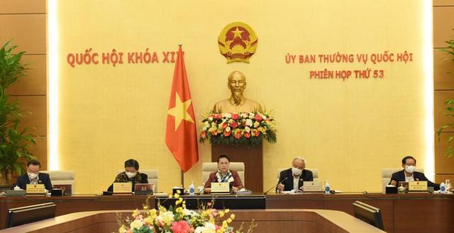 Quốc hội bầu, phê chuẩn các chức danh lãnh đạo bộ máy nhà nước tại kỳ họp tháng 3  - Ảnh 1.