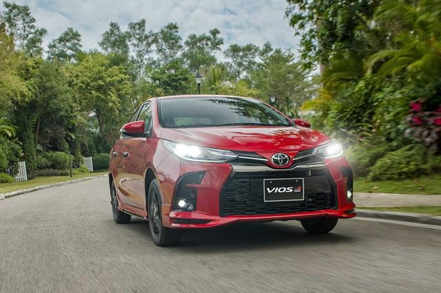 Chênh 152 triệu đồng, 4 bản Toyota Vios 2021 có gì khác, GR-S đắt nhất phân khúc có đáng mua? - Ảnh 9.