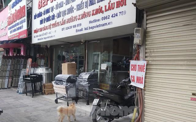Hàng loạt khách sạn, cửa hàng Hà Nội treo biển cho thuê sau Tết - Ảnh 10.