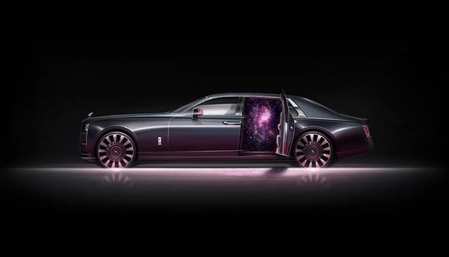 Rolls-Royce ra mắt bộ sưu tập Phantom Tempus với cả dải thiên hà huyền bí trong cabin - Ảnh 4.