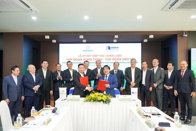 Hai công ty hợp tác chiến lược, Chủ tịch Đèo Cả được bầu làm Phó Chủ tịch Hưng Thịnh Incons - Ảnh 1.