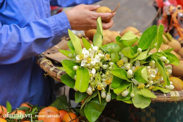 Hàng bưởi Diễn da vàng óng có từng búi hoa tươi trở thành món hàng siêu độc trên chợ nhà giàu Hà Nội, tận 100k/quả, bà chủ thu cả chục triệu mỗi ngày!  - Ảnh 14.