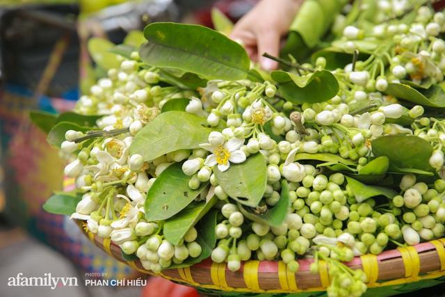 Hàng bưởi Diễn da vàng óng có từng búi hoa tươi trở thành món hàng siêu độc trên chợ nhà giàu Hà Nội, tận 100k/quả, bà chủ thu cả chục triệu mỗi ngày!  - Ảnh 16.