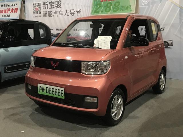 Chiếc xe điện tí hon này của Trung Quốc bán chạy hơn cả Tesla vào tháng trước - Ảnh 1.
