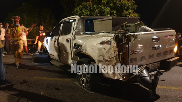 Tai nạn liên hoàn trên đèo Bảo Lộc, nhiều người bị thương  - Ảnh 3.