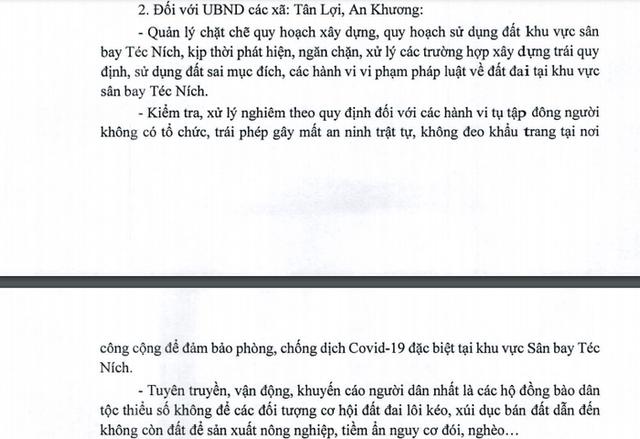 """Bình Phước: Sân bay Téc Ních chưa quy hoạch, """"cò"""" đã thổi giá đất dựng đứng - Ảnh 3."""