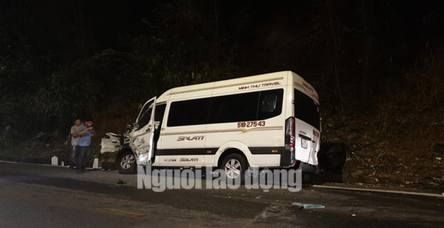 Tai nạn liên hoàn trên đèo Bảo Lộc, nhiều người bị thương  - Ảnh 7.