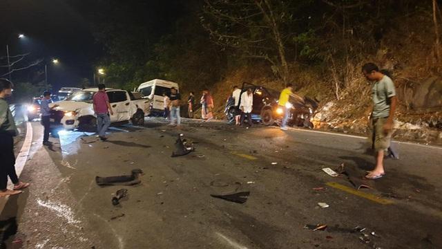 Tai nạn liên hoàn trên đèo Bảo Lộc, nhiều người bị thương  - Ảnh 9.