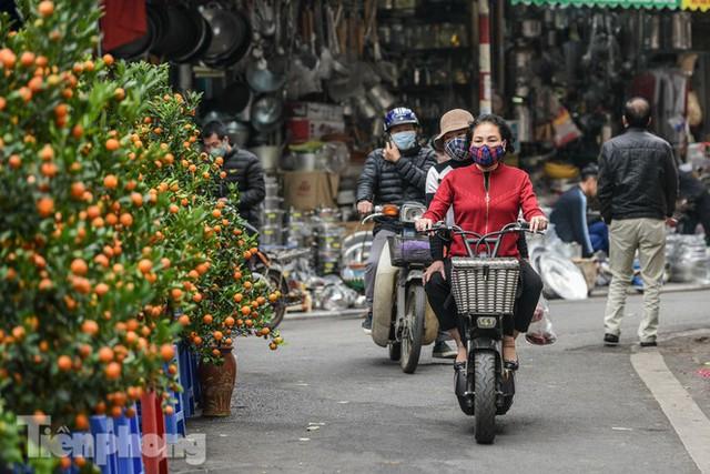 Ghé thăm chợ hoa cổ nhất Hà Nội giữa mùa dịch COVID-19 - Ảnh 4.