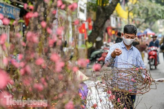 Ghé thăm chợ hoa cổ nhất Hà Nội giữa mùa dịch COVID-19 - Ảnh 10.