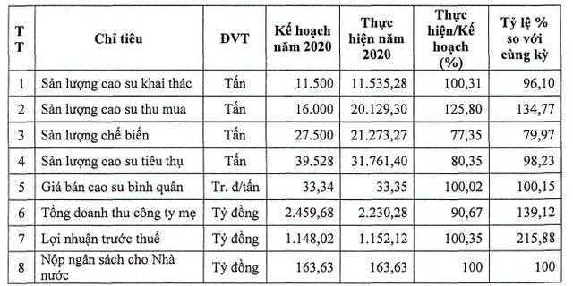Cao su Phước Hòa (PHR) đặt mục tiêu lãi trước thuế 751 tỷ đồng trong năm 2021 - Ảnh 1.