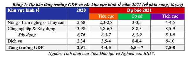 Động lực và kịch bản tăng trưởng kinh tế Việt Nam năm 2021 - Ảnh 2.
