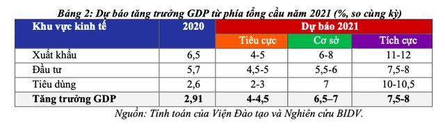 Động lực và kịch bản tăng trưởng kinh tế Việt Nam năm 2021 - Ảnh 3.