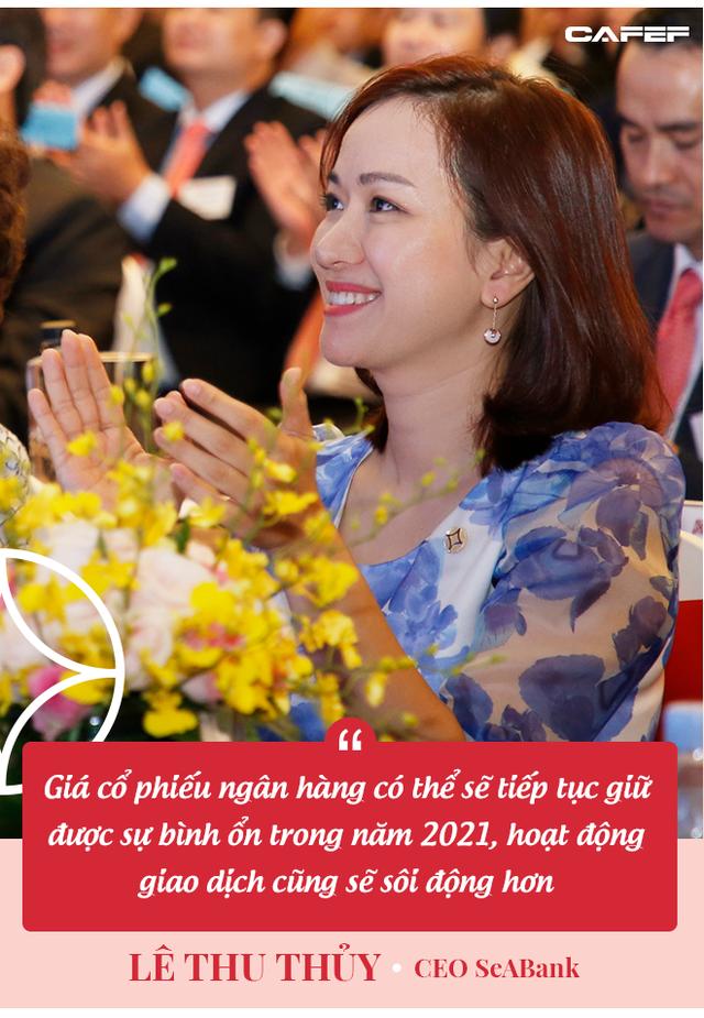 CEO SeABank Lê Thu Thủy: Sẽ có cuộc chạy đua gay gắt trong ngành ngân hàng năm 2021 - Ảnh 4.