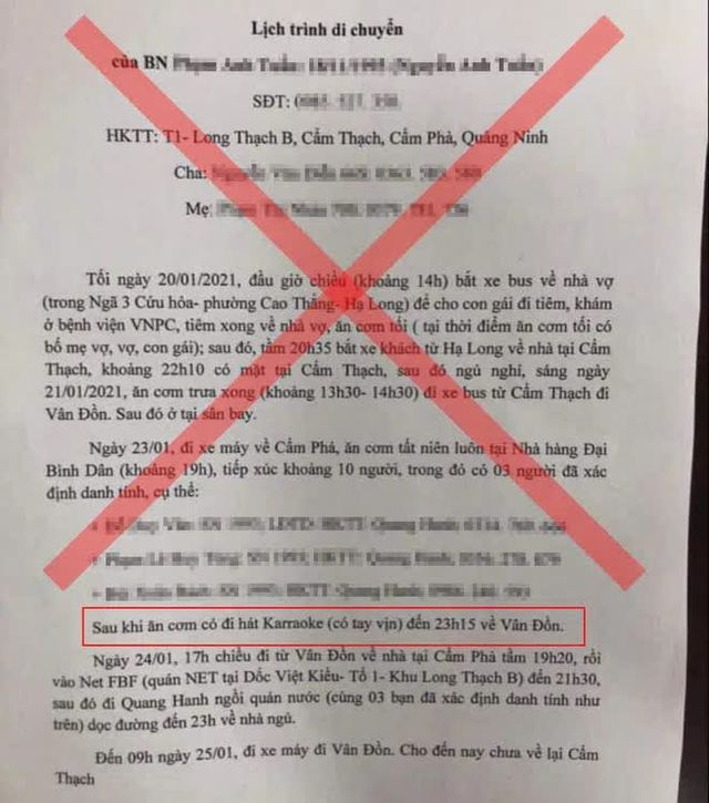 Hà Nội xử phạt 4 người chia sẻ thông tin sai sự thật liên quan dịch Covid-19 - Ảnh 2.