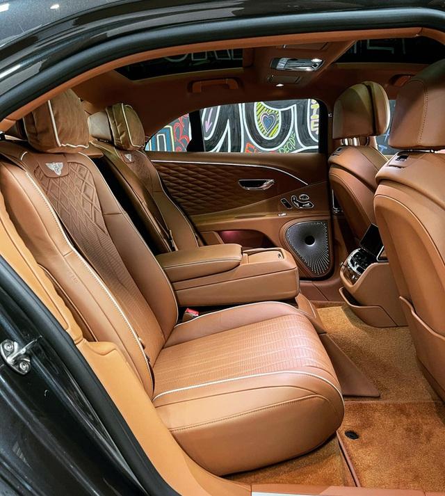 Bentley Flying Spur First Edition 2021 phối màu kiểu độc về Việt Nam, dành cho chủ xe gu mặn chứ không phải bình thường - Ảnh 6.