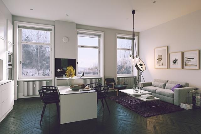 Tham khảo các thiết kế phòng ăn gắn liền với phòng khách tinh tế đến không ngờ - Ảnh 4.