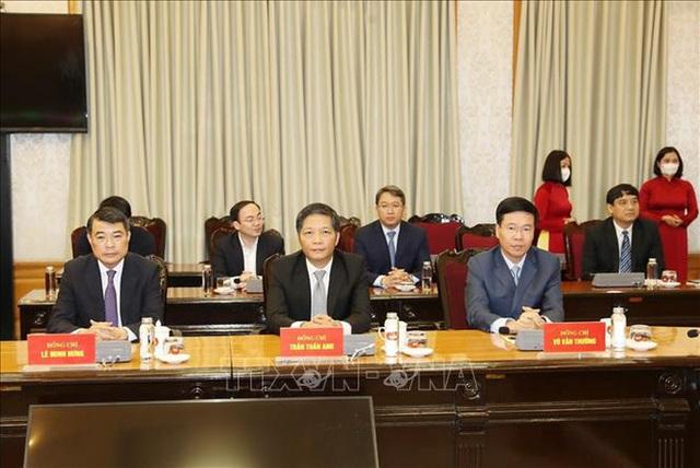 Chùm ảnh: Tổng Bí thư, Chủ tịch nước trao Quyết định phân công Ủy viên Bộ Chính trị  - Ảnh 7.