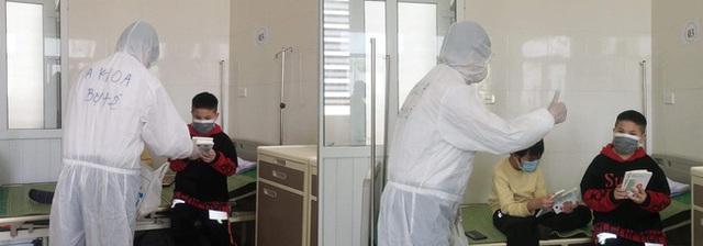 Hành trình ăn Tết ở cữ của người mẹ bé gái 21 ngày tuổi dương tính SARS-CoV-2 và nụ cười của những đứa trẻ trong bệnh viện dã chiến ở Hải Dương - Ảnh 10.