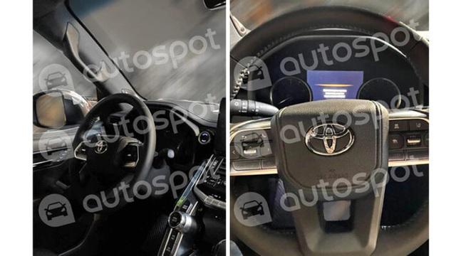 Toyota Land Cruiser Prado 2022 lần đầu lộ diện ngoài đời thực: Sang không kém Lexus LX570, dự kiến ra mắt tháng 3 - Ảnh 5.