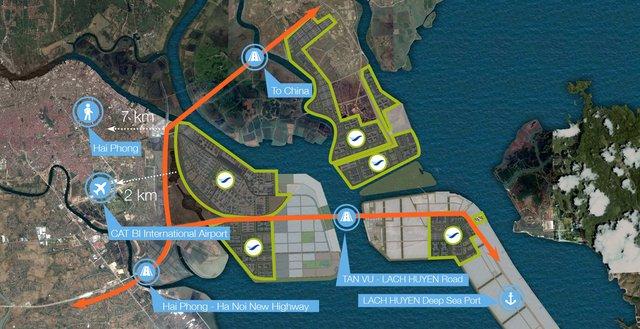 Thế cát cứ bất động sản KCN Hải Phòng: Vinhomes sắp lao vào cuộc chơi khốc liệt với Deep C, Sao Đỏ Group, VSIP và Kinh Bắc - Ảnh 4.
