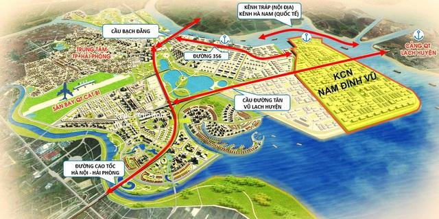 Thế cát cứ bất động sản KCN Hải Phòng: Vinhomes sắp lao vào cuộc chơi khốc liệt với Deep C, Sao Đỏ Group, VSIP và Kinh Bắc - Ảnh 7.