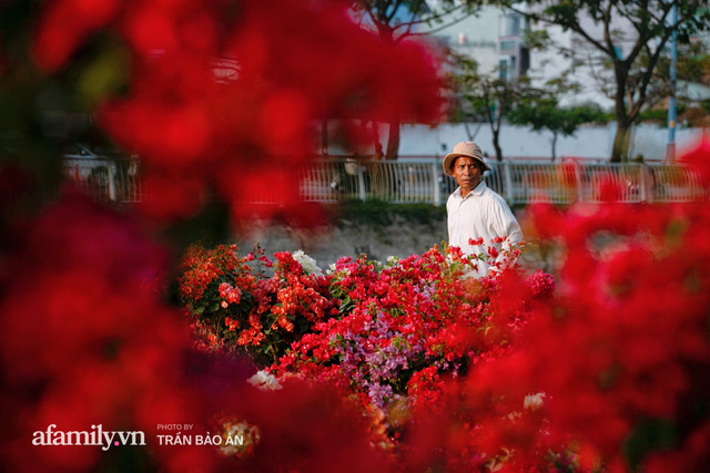 Thuyền hoa của người miền Tây chở Tết cho người Sài Gòn đã cập Bến Bình Đông, lượng khách đổ về ngày một đông dịp giáp Tết  - Ảnh 13.
