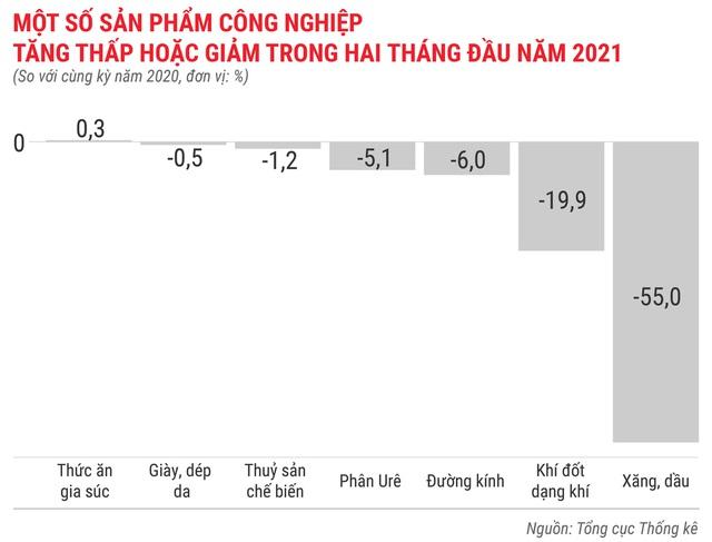 Toàn cảnh bức tranh kinh tế Việt Nam 2 tháng đầu năm 2021 - Ảnh 4.