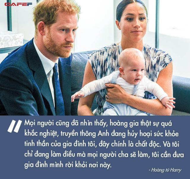 Harry Charles: Từ đứa trẻ ai cũng thương sau cái chết ám ảnh của Công nương tới Hoàng tử ếch bị cả thế giới chê cười vì để vợ dắt mũi - Ảnh 5.