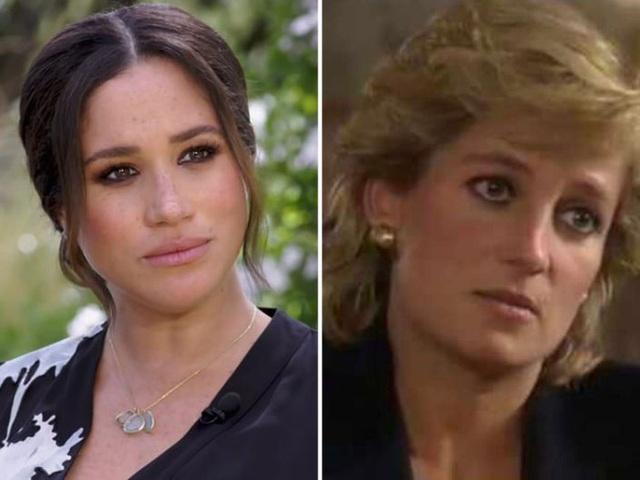 Đều thực hiện cuộc phỏng vấn rúng động hoàng gia, Meghan Markle phải cúi đầu xấu hổ trước cách ứng xử đẳng cấp của Công nương Diana - Ảnh 9.