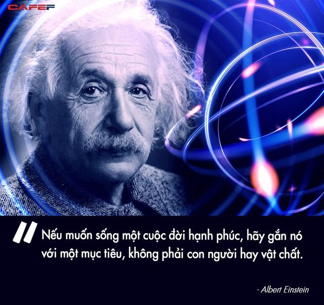 Với thiên tài Einstein, cuộc sống giống như 1 trò chơi, hạnh phúc cũng chỉ là 1 phương trình: Hiểu luật rồi thì ai cũng có thể thắng - Ảnh 3.