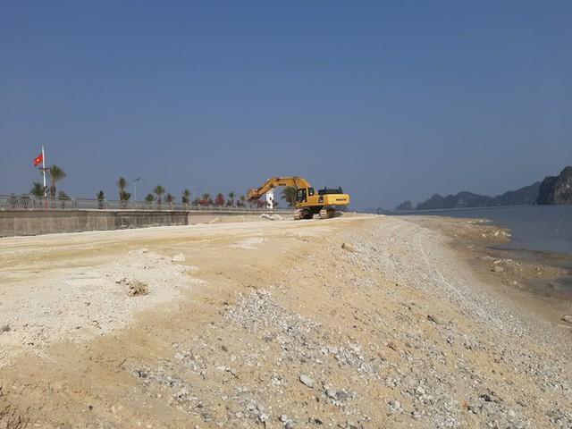 Công an vào cuộc vụ chủ dự án BĐS 'hot' nhất Vân Đồn lấn chiếm vịnh - Ảnh 1.