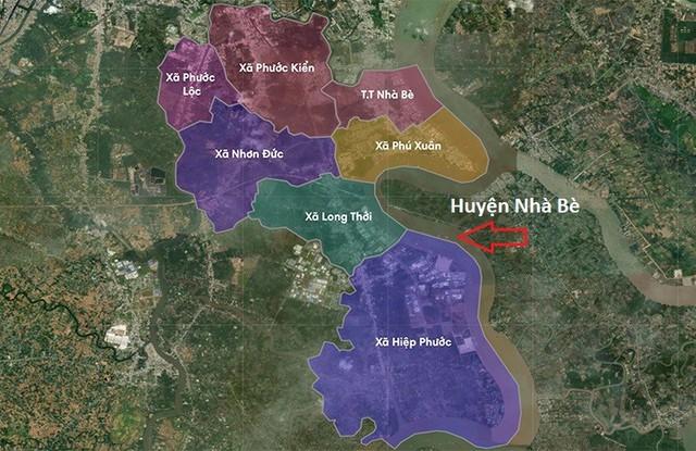 Giá nhà đất huyện Nhà Bè không ngừng tăng - Ảnh 1.