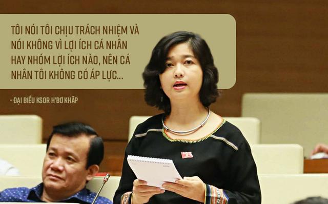 Nữ đại biểu Quốc hội Ksor H'Bơ Khăp không tái ứng cử khoá XV, muốn chuyên tâm phục vụ ngành công an - Ảnh 3.