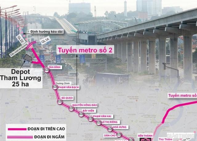 Dự kiến Metro số 2 sẽ khởi công vào giữa năm 2022 - Ảnh 1.