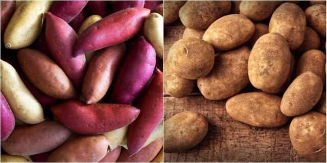 Vì sao ăn khoai lang tốt cho sức khỏe hơn khoai tây? - Ảnh 1.