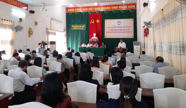 Bí thư Thành ủy Cần Thơ Lê Quang Mạnh ứng cử đại biểu Quốc hội - Ảnh 1.