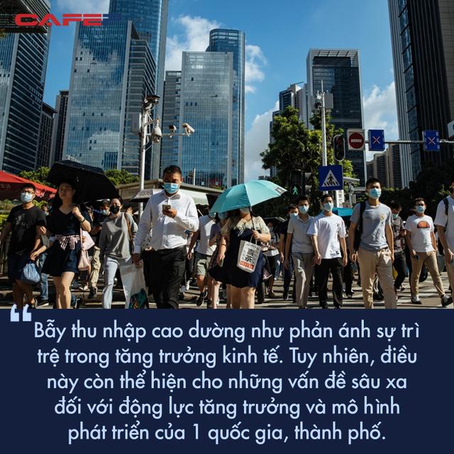 Tránh bẫy thu nhập trung bình chưa xong, Trung Quốc còn đứng trước nguy cơ rơi vào bẫy thu nhập cao  - Ảnh 1.