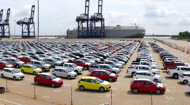 """Xe giá rẻ từ Indonesia, Thái Lan """"ùn ùn"""" trở lại thị trường sau Tết - Ảnh 1."""
