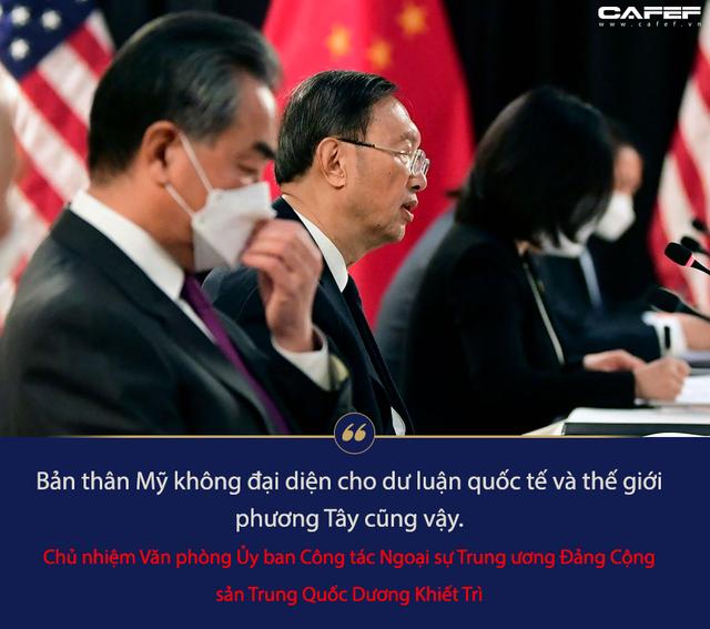 Chi tiết cuộc họp báo trở thành màn đấu khẩu cấp cao Mỹ - Trung: Ăn miếng trả miếng từng câu, từng chữ - Ảnh 4.