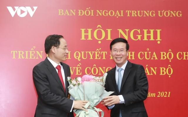 Thứ trưởng Bộ Ngoại giao Lê Hoài Trung giữ chức Trưởng Ban Đối ngoại Trung ương - Ảnh 1.