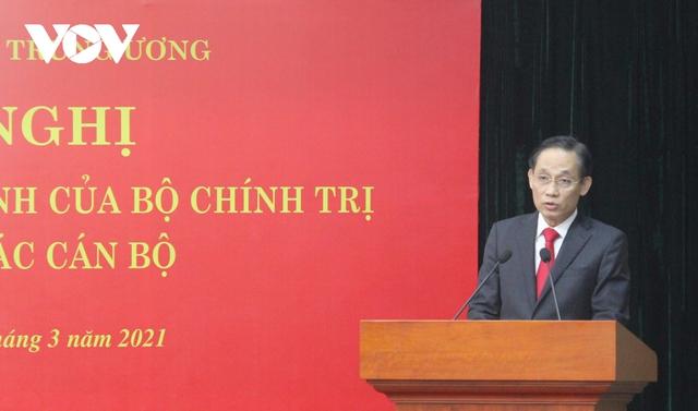 Thứ trưởng Bộ Ngoại giao Lê Hoài Trung giữ chức Trưởng Ban Đối ngoại Trung ương - Ảnh 2.