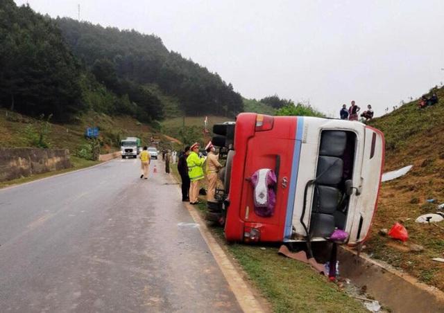 Xe khách chở Hội phụ nữ gặp nạn, 2 người thương vong  - Ảnh 1.