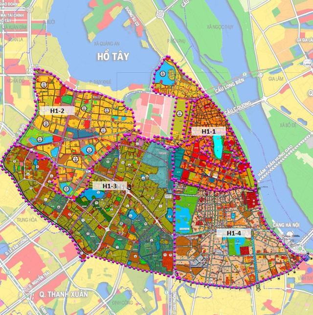 CLIP: Hà Nội quy hoạch 4 quận nội đô lịch sử, 215.000 người cùng hàng chục cơ quan di dời  - Ảnh 3.