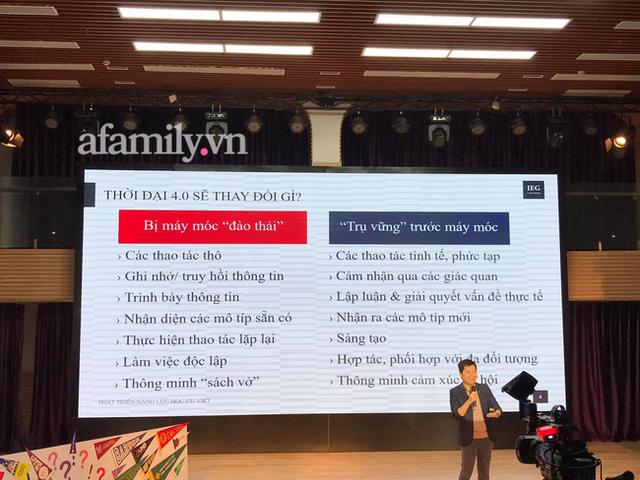 Tiến sĩ Stanford Nguyễn Chí Hiếu chỉ ra những kỹ năng thế hệ Alpha cần có, bố mẹ chú trọng bồi dưỡng để tương lai con không thất nghiệp - Ảnh 3.