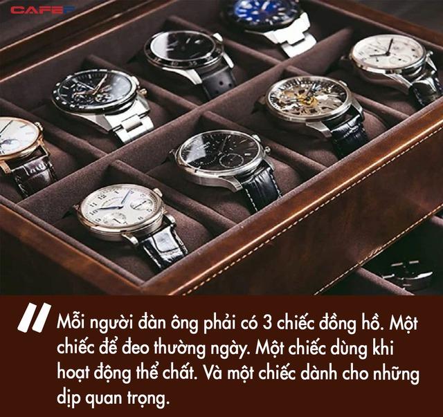 Vì sao mỗi quý ông nên sở hữu ít nhất 3 chiếc đồng hồ? Đắt và tốn một chút cũng chẳng sao, bản thân đạt được điều quan trọng này mới là cốt lõi - Ảnh 2.