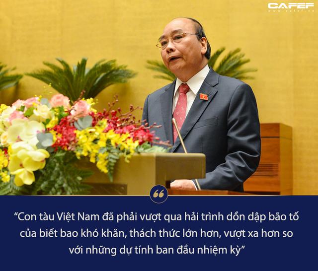 570 chuyến công tác lên rừng xuống biển và phát ngôn đáng chú ý của Thủ tướng Nguyễn Xuân Phúc trước Quốc hội - Ảnh 1.