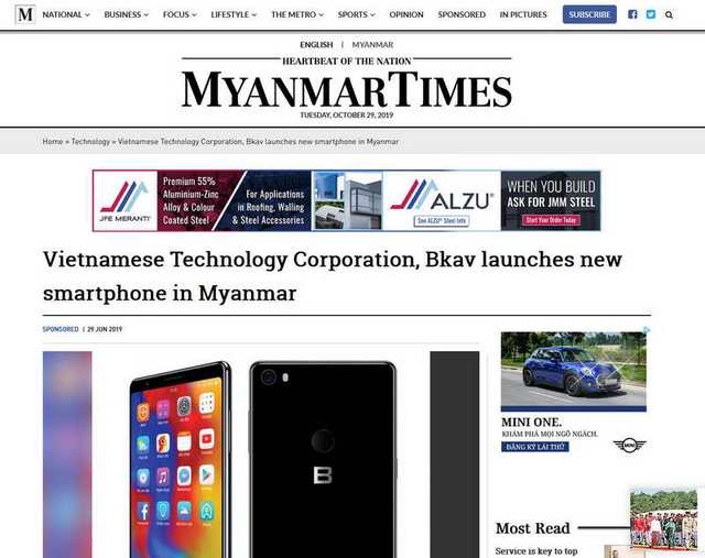 Đường xuất ngoại của smartphone Việt - Ảnh 2.