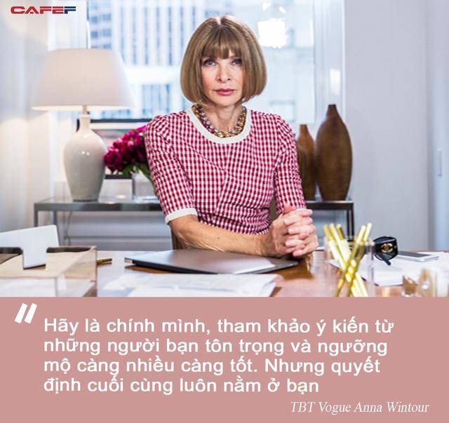 Anna Wintour – bà đầm thép của tạp thời trang danh tiếng Vogue: Vừa được tung hô như một danh nhân vừa bị chỉ trích như kẻ kỳ quặc, nhưng tài năng là điều không thể phủ nhận - Ảnh 4.